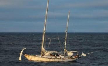 El tuit de los kelpers, tras encontrar el velero de La Cámpora en Malvinas
