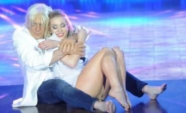 Genial imitación de Campi Sergio Denis bailo adagio