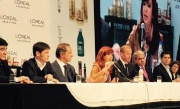 En plena veda, Cristina Kirchner pidió el voto para Scioli