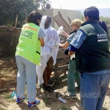 Un hombre se inmolo en su vivienda de Villa Eumelia, había apuñalado a su pareja