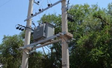 Se normaliza el servicio eléctrico en el Interior