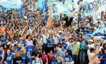 Lucía cerró su campaña en la ciudad satélite