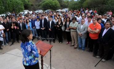 Corpacci inauguró una nueva Estación Transformadora de energía en Pirquitas