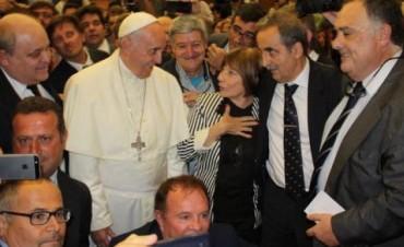 Guillermo Moreno fue a ver al Papa al Vaticano y lo abuchearon