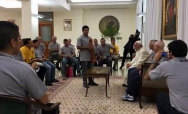 Francisco recibió a Los Espartanos, un equipo de rugby integrado por presos