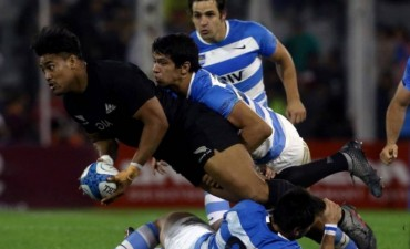 Los Pumas cayeron ante los All Blacks en Vélez