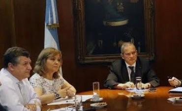 El Ministro Figueroa Castellanos se reunió  con el Dr. Jorge Lemus y su equipo de trabajo.