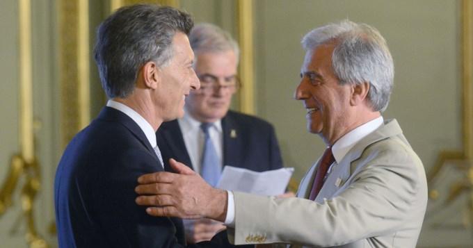 Macri relanza el vínculo con Tabaré