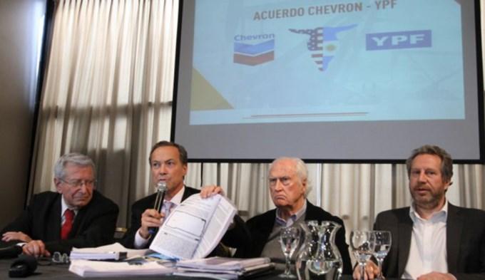 YPF-Chevron: difundieron el contrato