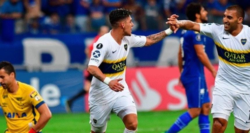 Boca empató y logró su pase a la semifinal de la Libertadores