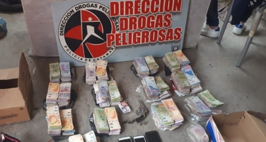 Desbaratan otra narcobanda millonaria