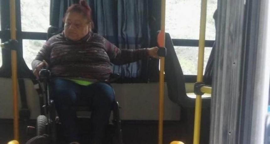 Colectivo apto para sillas de ruedas