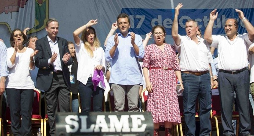 Lucía en Tucumán por el Día de la Lealtad