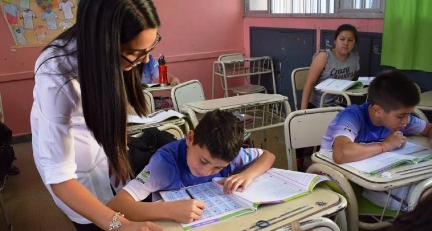 Se realizó el operativo Aprender en las escuelas primarias