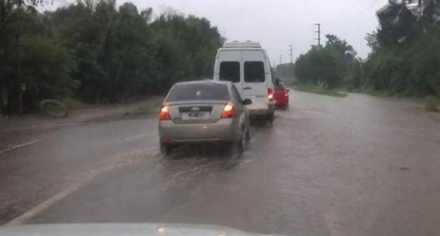 ATENCION Ruta 38: la lluvia anegó caminos y recomiendan usar rutas alternativas