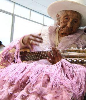 Cumplió años la mujer más anciana de América