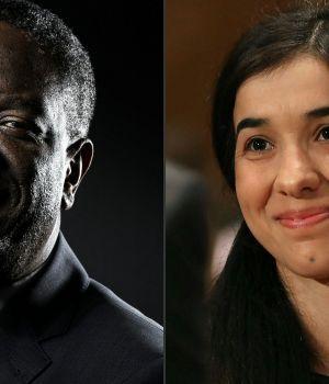 Ginecólogo y ex esclava sexual, premios Nobel de la Paz