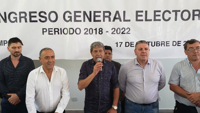 Pedro Milla fue elegido Secretario General de la Federación Argentina Sindical del Petróleo, Gas y Biocombustibles