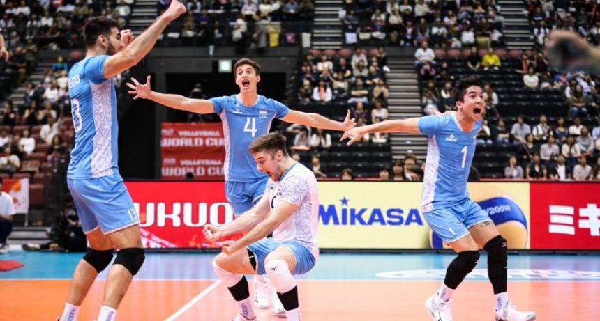 Argentina arrancó con una gran victoria en la Copa del Mundo de Japón