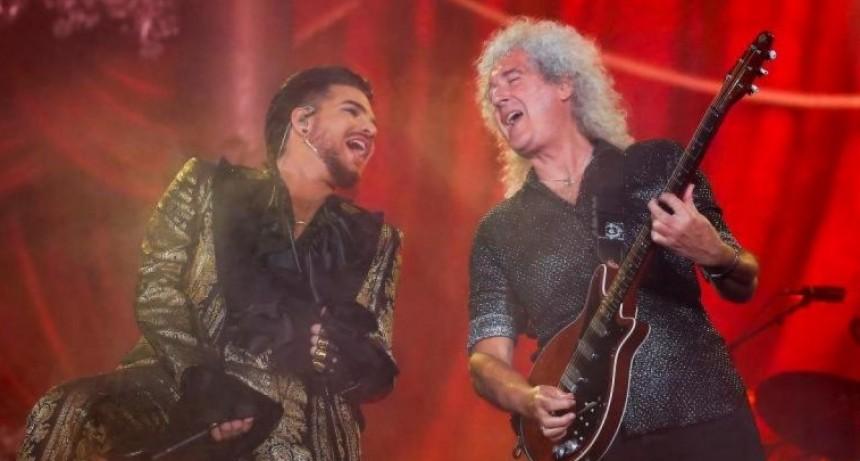 Queen encabezó un festival solidario contra el cambio climático y la pobreza