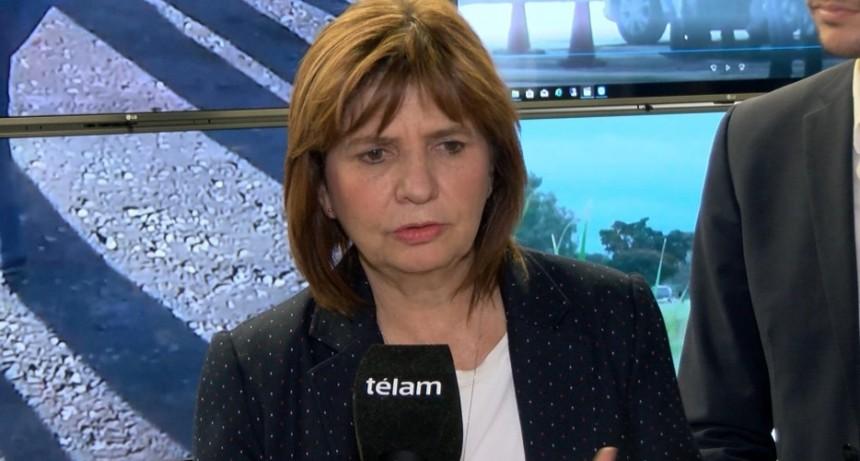 Narcotráfico: Bullrich presenta en Mar del Plata el megaoperativo Papa Lavada