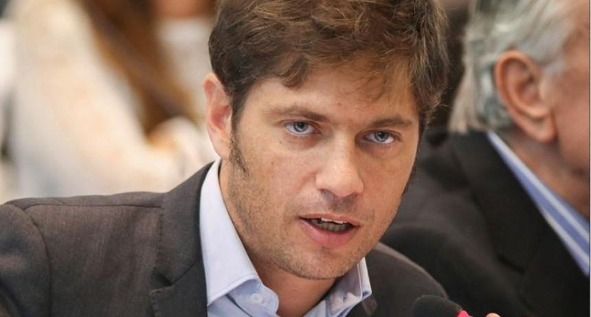 Axel Kicillof: La gente que se dedica a vender droga lo hace porque se quedó sin laburo