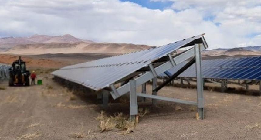 El parque solar de Antofagasta de la Sierra iniciará en octubre las pruebas técnicas