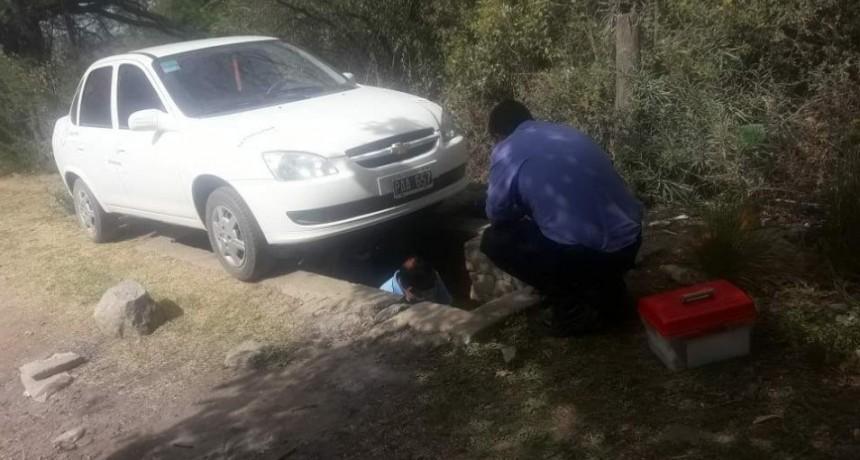 Hallaron el automóvil que arrolló y mató en la ruta a Martínez tras quedarse dormido