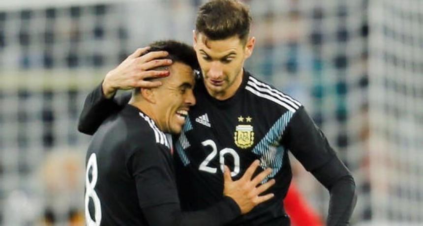 Argentina perdía con Alemania, pero Alario y Ocampos lograron el empate