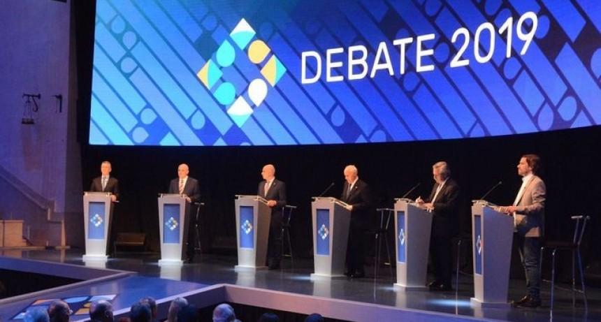 El primer debate presidencial, con varias chicanas entre Macri y Fernández