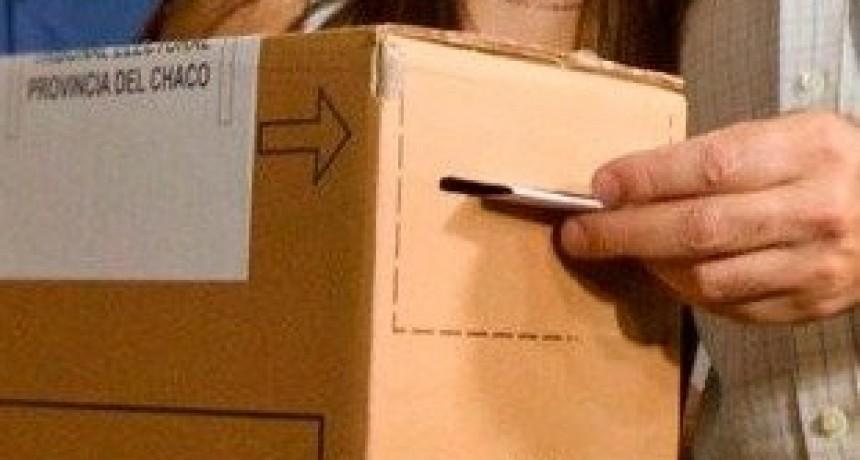 LA NOTA La participación en las elecciones de Chaco fue superior al 72 por ciento