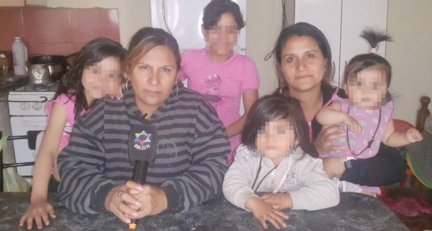 Desamparados: Abuela quedo en la calle con su hija y sus 4 nietas, ahora ocupo una vivienda vacia,pero le piden que desaloje