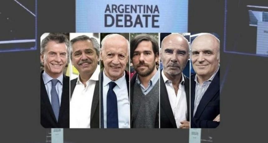 Segundo debate presidencial: Mauricio Macri y Alberto Fernández polarizaron la discusión con fuertes acusaciones cruzadas