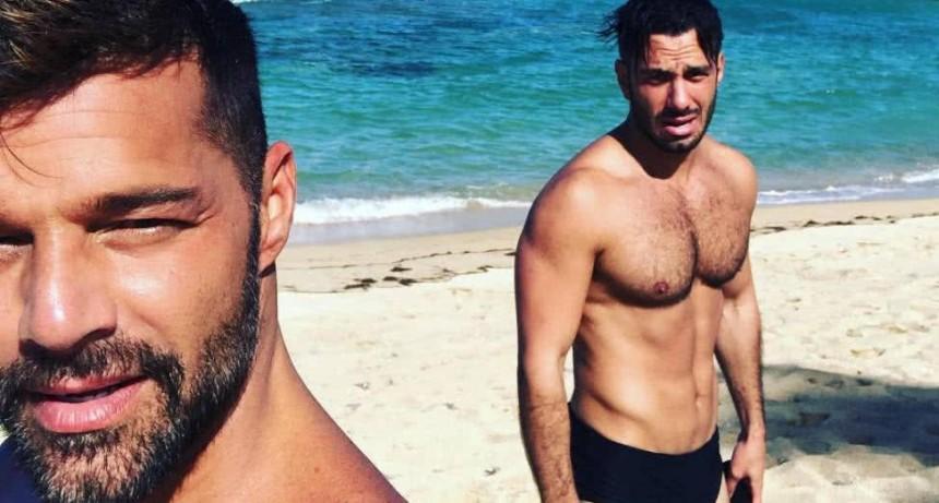 Ricky Martin presentó a su nuevo hijo a través de las redes sociales
