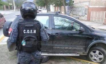 Persecución,arrestados y droga en el Eva Perón