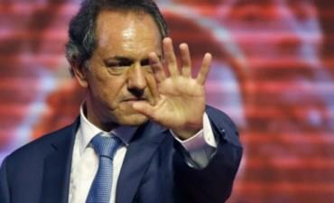 """Scioli prometió tolerancia cero a los piquetes para """"no joderle más la vida a la gente"""""""