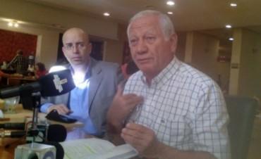 Gustavo Jalil denunciara a la empresa COARCO por la obra de cloacas
