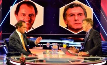 Scioli: Si gana Macri, el Estado será un contrapeso del esfuerzo de la gente