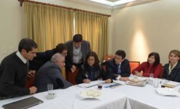 Corpacci se reunió con sus ministros en Casa de Gobierno