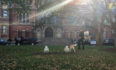 Evacuaron la Universidad de Harvard por amenazas de bomba