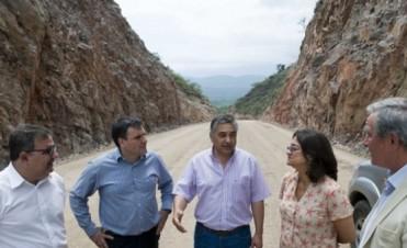 Corpacci recorrió Ambato y la Quebrada de Moreira