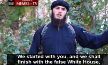El Estado Islámico amenazó en un nuevo video con destruir la Casa Blanca