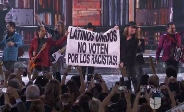Maná contra Donald Trump en el Grammy Latino
