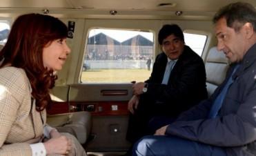 Cristina Kirchner se reúne con Daniel Scioli y Carlos Zannini