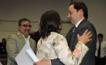 Legisladores nacionales electos, recibieron sus diplomas