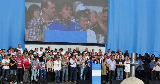 Yasky y Micheli cargaron contra la CGT y el gobierno