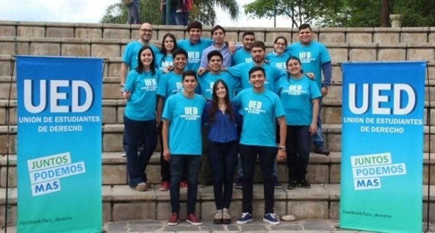 La UED ganó el centro de estudiantes en Derecho