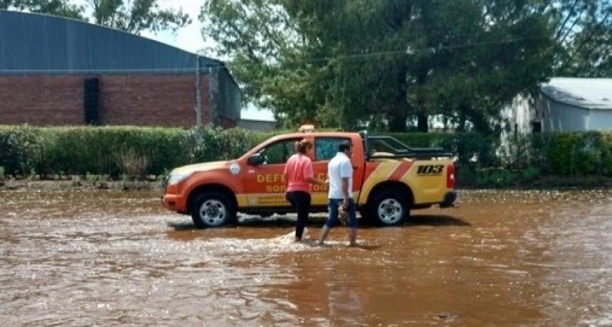 Fuerte temporal dejo viviendas inundadas en el Este Provincial