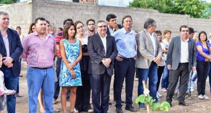 Nación y Municipio inauguraron obras en el barrio Magisterio