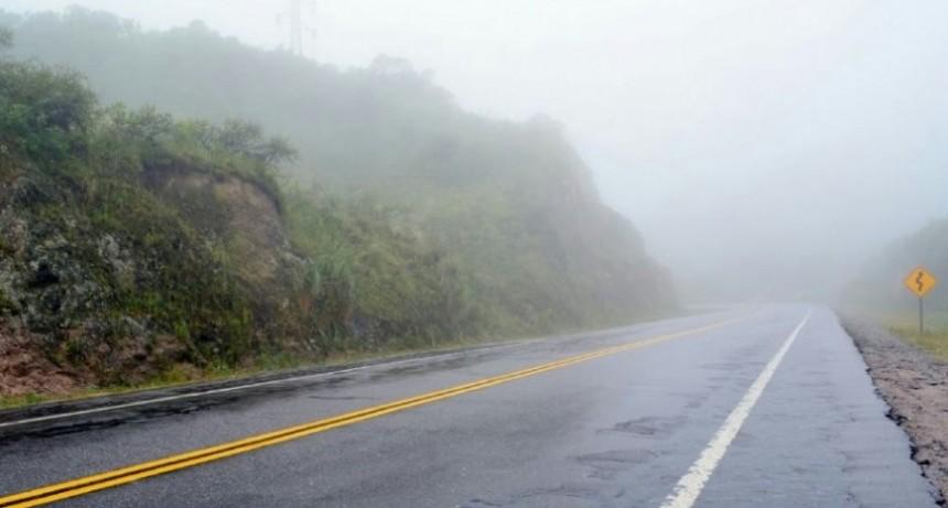 Recomiendan transitar con extrema precaución en El Totoral y La Cébila